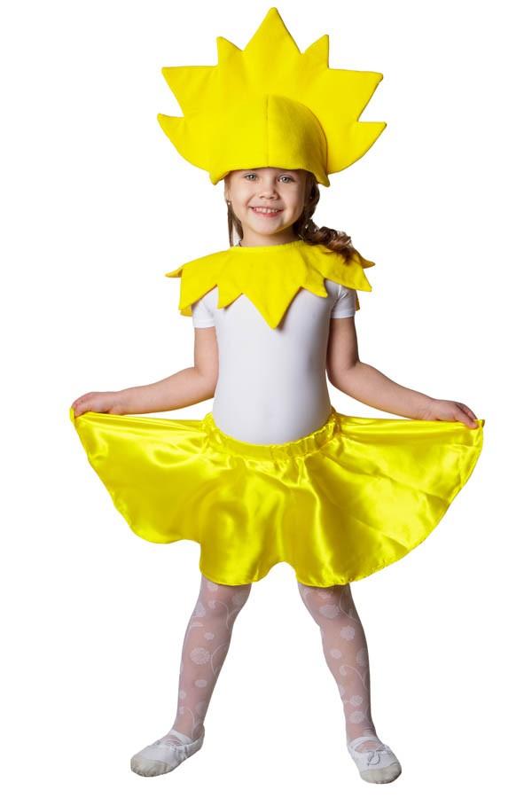 Корона для костюма солнышко