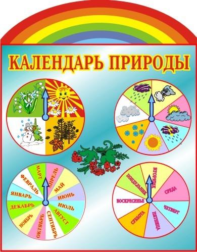 Календарь природы своими руками для доу 287