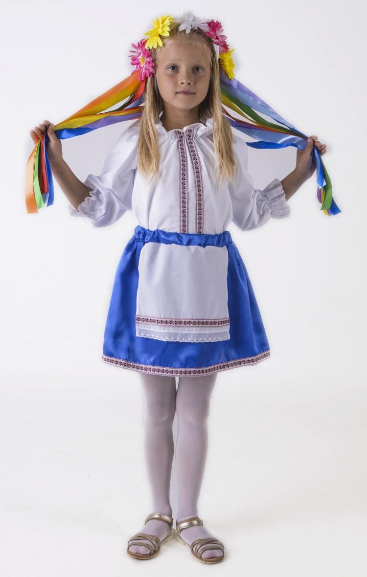 Белорусский костюм для девочки своими руками 3