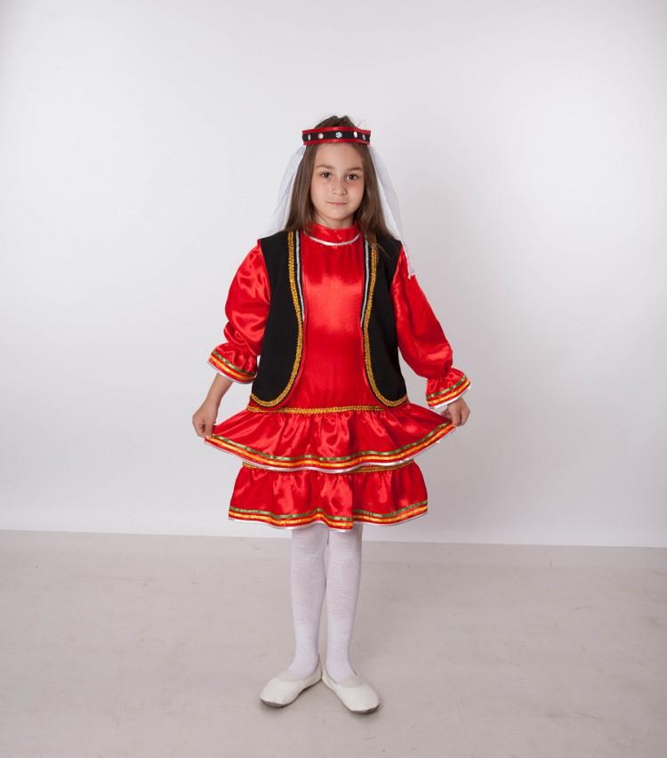 Башкирский национальный костюм для девочки