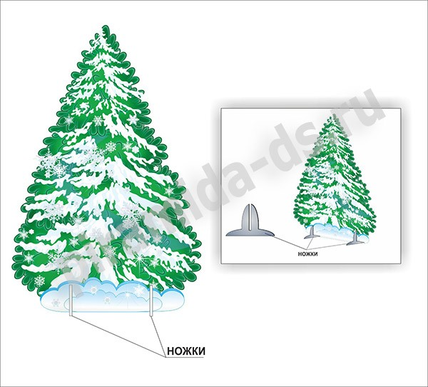 Сказочная елка своими руками
