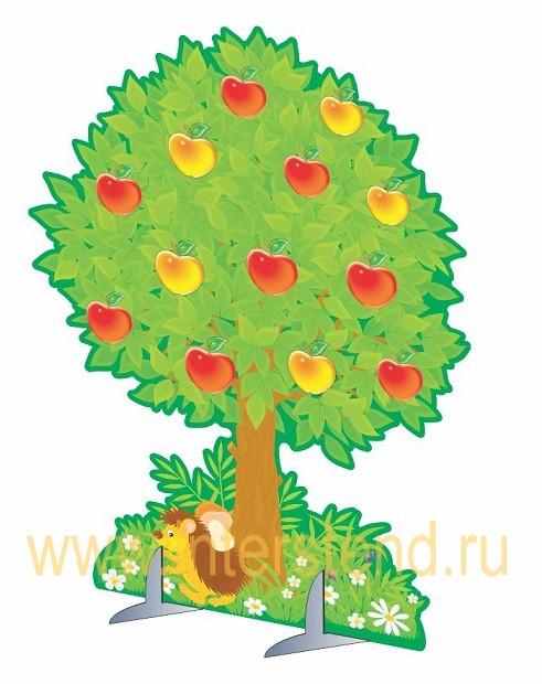 Декорации деревьев из картона 144