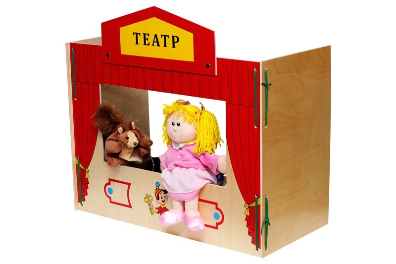 Сделать ширму для кукольного театра своими руками