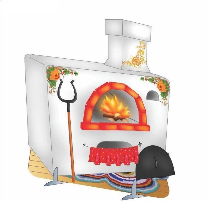 Печка для детей  фото